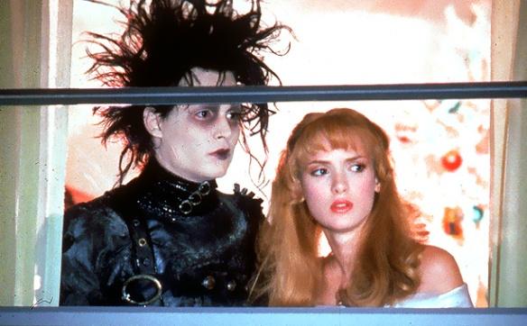 Edward Scissorhands (1990) Johnny Depp and Winona Ryder