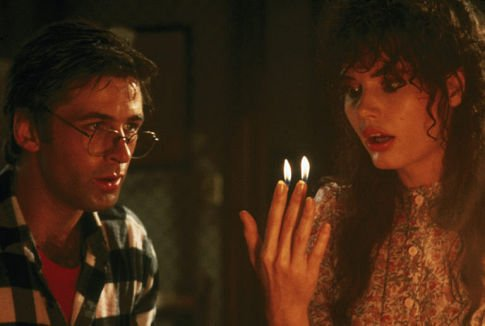 Adam and Barbara Maitland in Beetlejuice