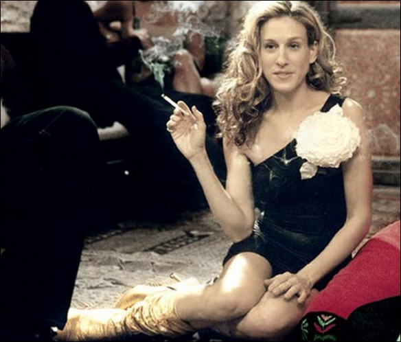 Carrie-Bradshow-Flower-Brooch-Paula-Joye-What-I-Wore