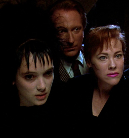 The Deetz family in Beetlejuice