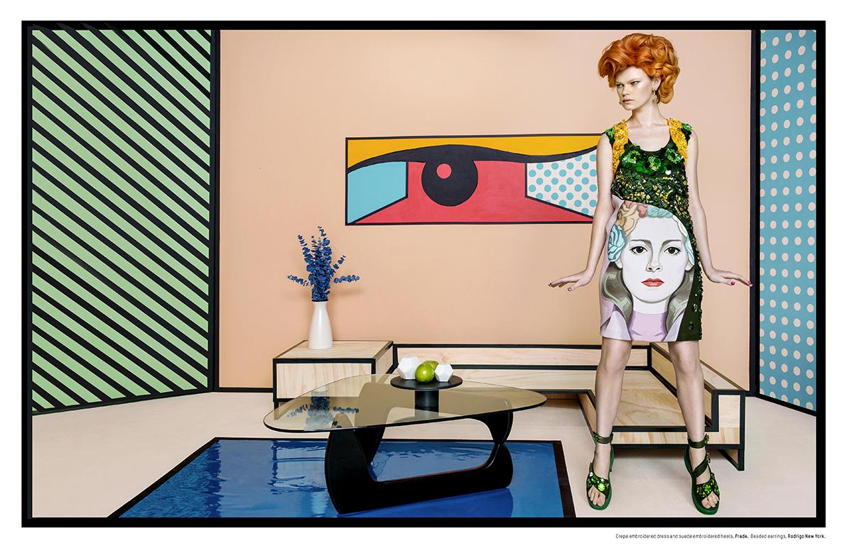 Pop Art Stole My Heart Miss Dee Style