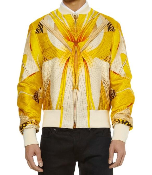 Alexander-Mcqueen-Dragonfly-printed-wool-silk-blend-bomber-jacket-2