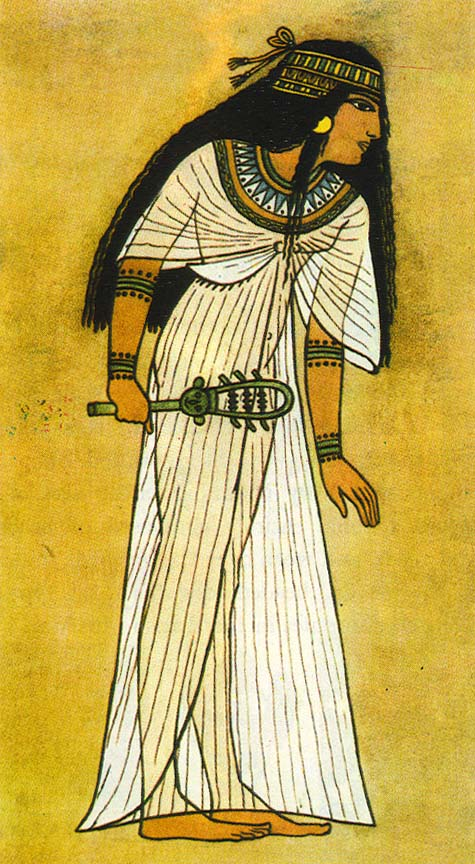 Egyptian-wrap-dress