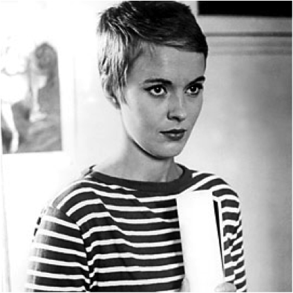 jean-seberg-stripes