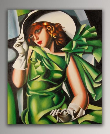 Girl with Gloves, 1929 Tamara de Lempicka