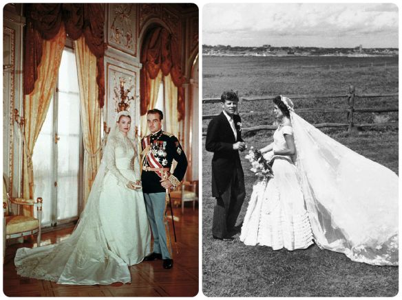 grace-kelly-wedding-dress- jackie o