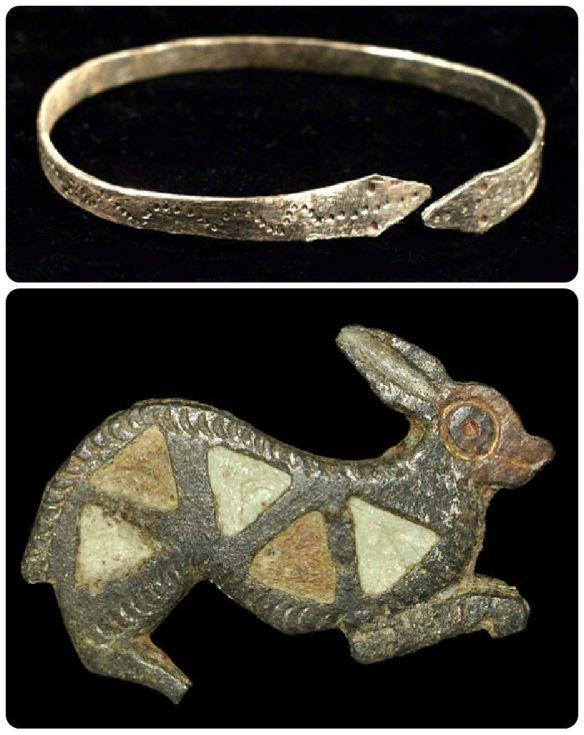 roman bracelet brooche