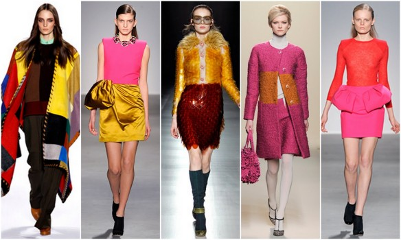 Fall 2011 Fashion Trends - Color Blocking