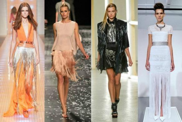 Versace, Nina Ricci, Rodarte, and Catherine Malandrino Spring 2013