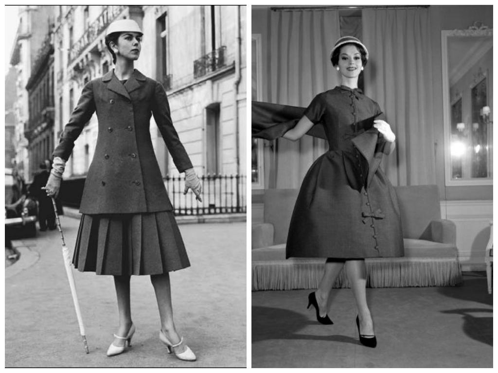 Early 1960s fashion women