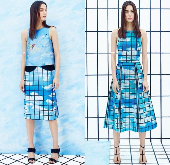 sachin-babi-ahluwalia-2015-pre-fall-autumn-fashion-womens-mesh-3d-flowers-windowpane-check-flying-fish-sky-knit-dress-embroidery-sweater-05x
