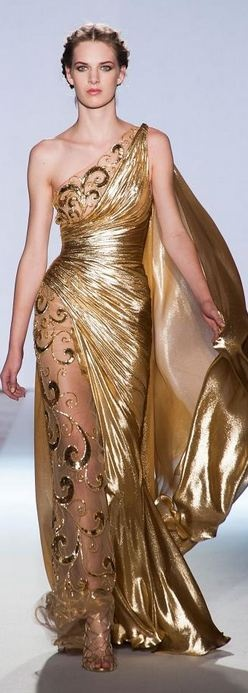 Greek inspired cocktail dress