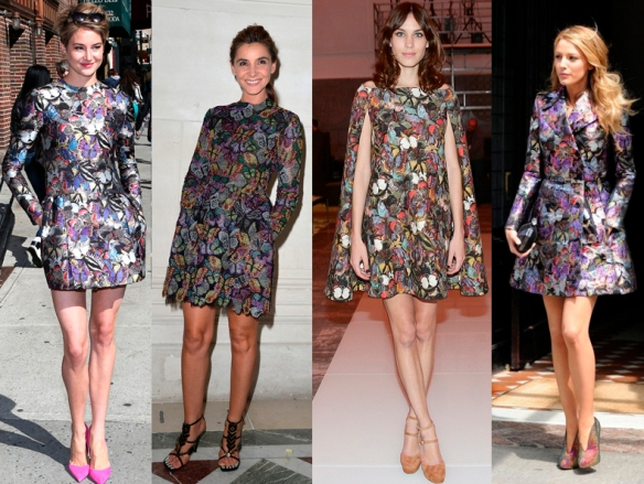 celebrities-wearing-valentino-butterfly-print-dresses-and-coats